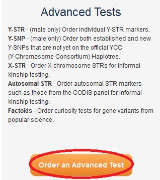 Order an Advanced Test
